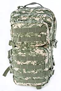 Combat Assault Pack MOLLE Backpack 36L ACU Digital Camo
