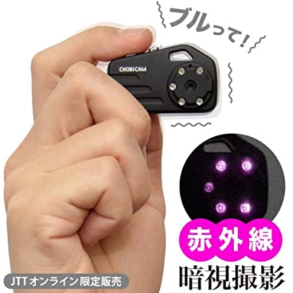 Chobi Cam Mini Night Vision Camera. So you can take a picture of that thief at night!