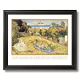 Vincent Van Gogh Old French Landscape Home Decor Wall Picture Black Framed Art Print