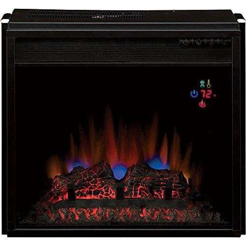 Chimneyfree Vent-Free Blue Spectrafire Flame Electric Fireplace - 4600 Btu, 18In., Model# 18Ef023Gra