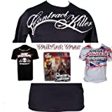 "CONTRACT KILLER ""TATTOO SCRIPT"" MMA SHIRT SIZE X-LARGE"