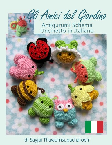 Amigurumi Tiger : eBook Bimbe Arcobaleno Amigurumi, Schema Uncinetto in ...