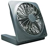 """10"""" Portable Fan, Can Use Batteries or Adapter"""