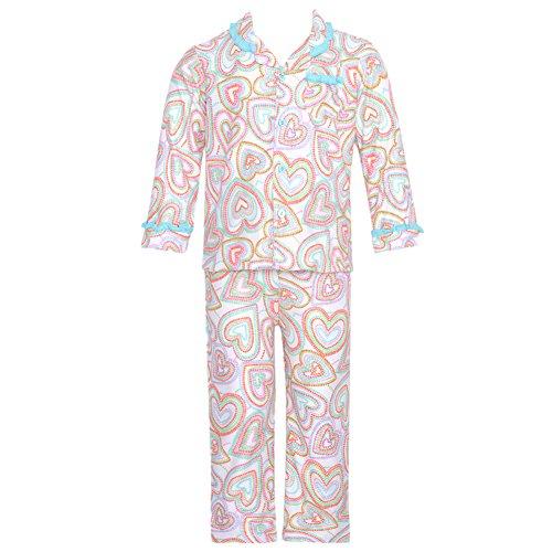 Absorba Baby-Girls Infant Pajama Set, Printed, 24 Months