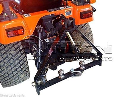 Kubota BX Trailer Hitch compact tractor drawbar 3 point three john deere (TD)