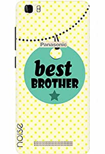 Noise Designer Printed Case / Cover for Panasonic P75 / Quotes/Messages / Best brother Design