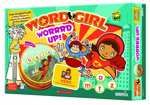 Briarpatch Wordgirl Worrrd Up Game