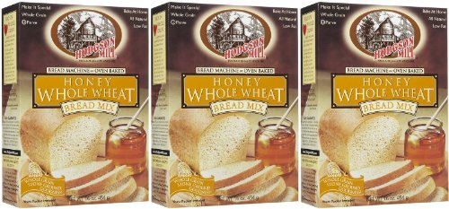Hodgson Mill Honey Whole Wheat Bread Mix, 16 oz Boxes, 2 pk (Bread Honey Wheat compare prices)