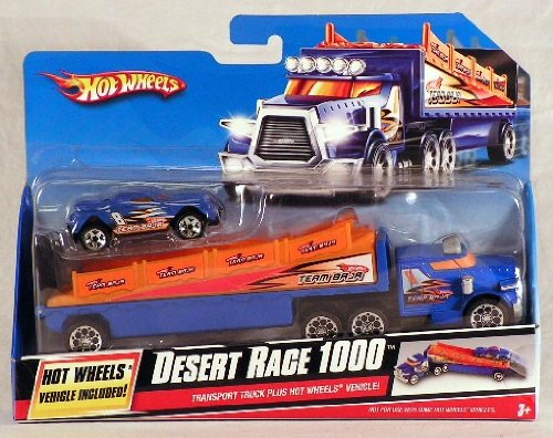 Hot Wheels Desert Race 1000 Car and Truck