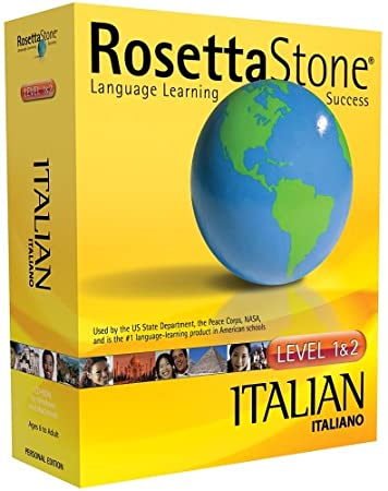 Rosetta Stone V2: Italian Level 1-2 [OLD VERSION]