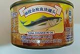 Thunfisch in Dosen 24 Dosen Nettogesamtgewicht 4440 Gramm (185gX24 Dosen), Meeresfrüchte aus Südchinesische Meer Nanhai