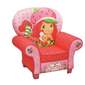 Amazon.com: American Greetings Icon Chair, Strawberry ...