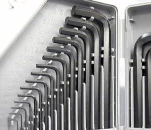 ミリ&インチ六角レンチセット 30本セット DAIKITOOL