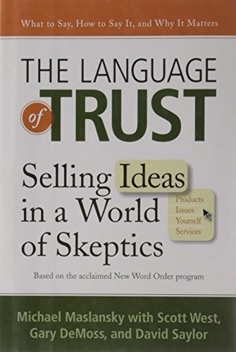 Image of The Language of Trust: Selling Ideas in a World of Skeptics