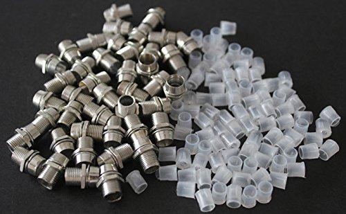 100Pcs 3Mm Chrome Metal Led 3Mm Plated Bezels Holder Case Holder Cup