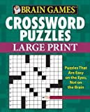 9781450827133: Brain Games: Crossword Puzzles (Large Print)