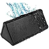 OontZ Angle 2 PLUS Portable Wireless Water Resistant Bluetooth Speaker, (BLACK), by Cambridge SoundWorks