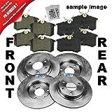 4x Brake discs + Brake pads + Accessoy kit front + rear AUDI A2 8Z 1.6 2004.04-07.05; A3 8L 1.6 1.8 1999-03; SEAT IBIZA MK 5 6J 1.2-1.9 2007.08-02.09; LEON 1M 1.4-1.9 2000-05; TOLEDO MK 2 1M 1.4-2.3 1999-04; SKODA OCTAVIA 1U 1.6-2.0 2000-10; VW BORA 1J 1
