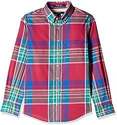 Gant Boys' Shirt (GBSFF0028_Multicolor_L)