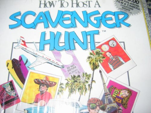 SCAVENGER HUNT: How to Host A Scavenger Hunt 1980 - 1