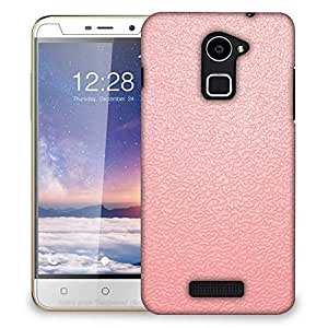 Snoogg pink distorted water Designer Protective Back Case Cover For Coolpad Note 3 Lite