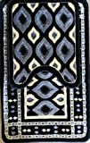 2-piece Turkish Bathroom Carpet Set:…