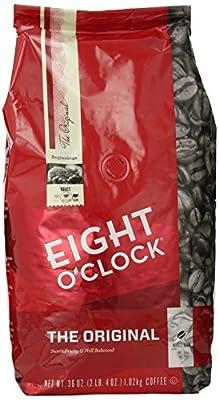 Eight O'Clock Coffee, Original Whole Bean, 36 Ounce