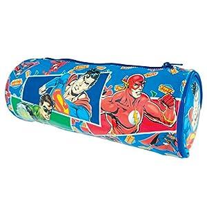 MegaBrands DC Justice League Superman/Batman/Flash and Green Lantern Tube Pencil Case