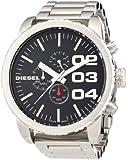 Diesel - DZ4209 - Montre Homme - Quartz Chronographe - Chronomètre/Aiguilles/Luminescent - Bracelet Acier Inoxydable Argent