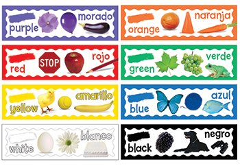Eureka Colors Mini Bulletin Board Sets - 1