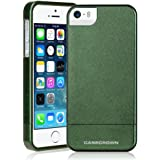 iPhone 5 \ 5s Case, CaseCrown Chameleon Glider Dual Color Case Cover (Olive/Aqua Green)