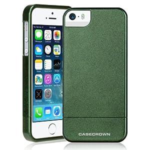 CaseCrown Chameleon Glider Case (Olive/Aqua Green) for Apple iPhone 5 / 5s