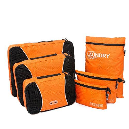 nextour-packing-cubes-3-pcs-plus-laundry-bag-toiletry-bag-and-electronics-accessories-pouch-6-set-tr