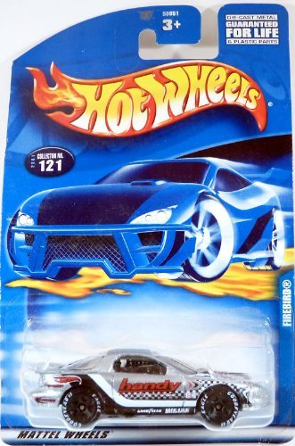 Hot Wheels: Firebird (Silver with Racing Decals), Collector Number 121