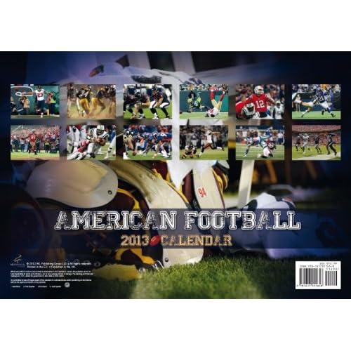 American Football 2013 Calendar