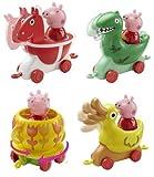 Peppa Pig Theme Park Ride BUNDLE - HORSE - DUCK - TEA CUP - DINOSAUR