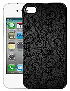 FCS Printed 2D Designer Hard Back Case For Apple iPhone 4s With Universal Mobile Stand