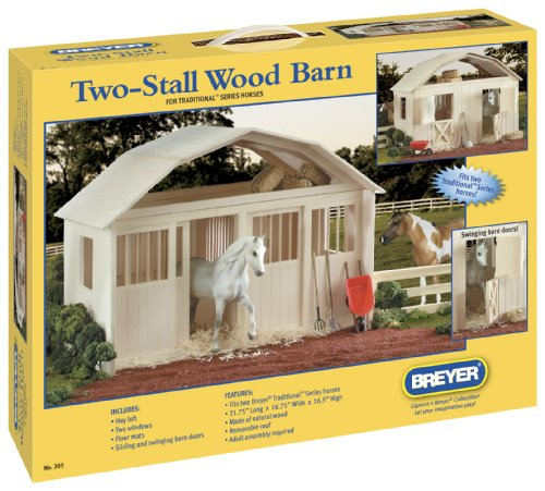 Breyer Two Stall Barn