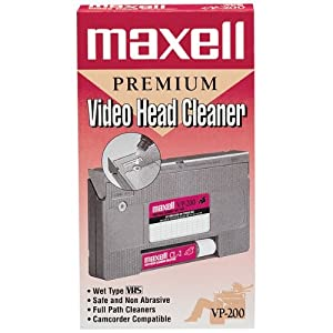 Maxell 290038 Vhs Cleaner Wet
