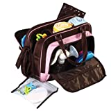 Maternity, Hospital &amp; Travel Bag with Baby Changing Mat &#8212; Black