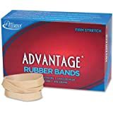 Alliance Advantage Rubber Band Size #84 (3 1/2 x 1/2 Inches) - 1 Pound Box (Approximately 150 Bands per Pound) (26845)