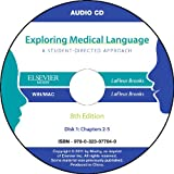 Audio CDs for Exploring Medical Language, 8e