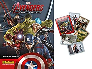 Marvel Avengers Age Of Ultron Movie / Film Panini Sticker Collection ~ Starter Pack & 10 Packets