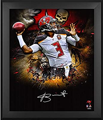 "Jameis Winston Tampa Bay Buccaneers Framed Autographed 20"" x 24"" In Focus Photograph - Fanatics Authentic Certified"
