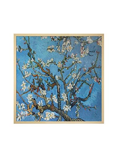 Vincent van Gogh Branches Of An Almond Tree In Blossom Framed Hand-Painted Oil Reproduction