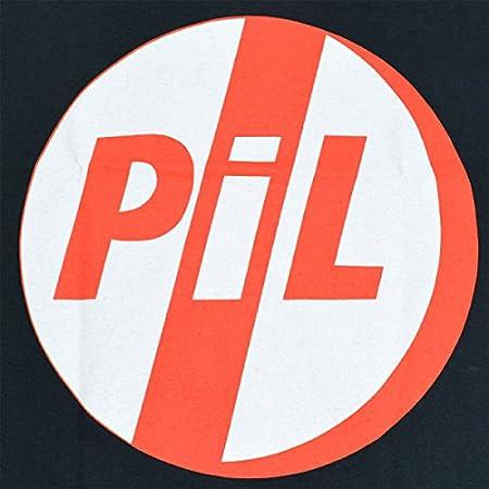 PiL (パブリックイメージリミテッド) Public Image Ltd RED LOGO Tシャツ 正規品 ロックTシャツ オフィシャル (L)