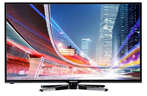 MEDION LIFE X18012 (MD 30838) 125,7cm (50 Zoll) Smart-TV (Full HD 1080p, HD-Triple-Tuner DVB-T DVB-C DVB-S2, 100 Hz Real Motion Rate, WLAN, Medienportal, Mediathek, DLNA, HbbTV, Mediaplayer, USB, CI+, EEK A++) schwarz