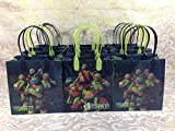 12pcs Teenage Mutant Ninja Turtles Tmnt Treat Bags Goodies Bags Party Favor Birthday Gift Bags