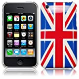 IPHONE 3G 3GS UNION JACK BACK COVER CASE PART OF THE QUBITS ACCESSORIES RANGEby Qubits