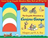Curious George the Complete Adventures Deluxe Book and Cd Gift Set